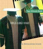 jual baju toga wisuda batik SMP