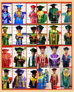 distributor baju wisuda sd Terpercaya